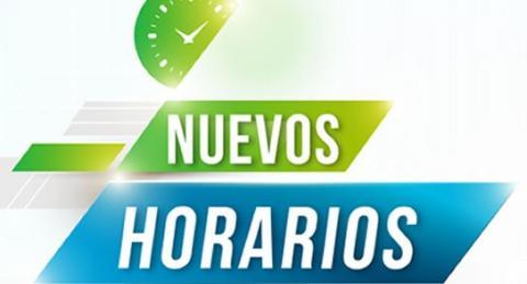 Nuevos horarios de entrenamiento for Horario ministerio del interior